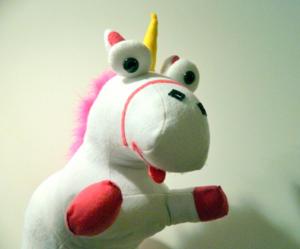 despicable me felt unicorn-mini pip