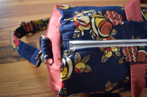 Floral Gym Bag- Mini Pip