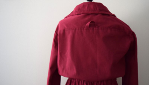 cranberry anorak- mini pip