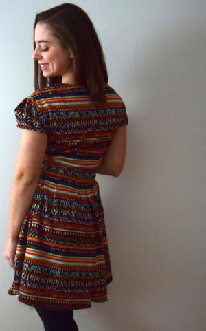 Turkey Day Dress- mini pip